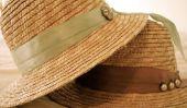 DIY chapeau de paille