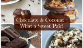 18 Chocolat et noix de coco Recettes - Qu'est-ce que une paire douce!