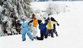 Empêcher pantalon mouillé de neige
