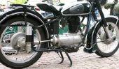 Changer les pneus - dans une moto de sorte qu'il va