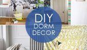 Retour au campus: Dorm Decor Ideas 10 Élégant bricolage
