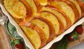 Lait de poule cuit français Toast avec Praline Sirop