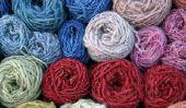 Teinture de la laine - comment cela fonctionne avec des colorants naturels