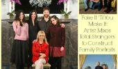 Fake It 'Til You Make It: Artiste Mixes total étrangers de construire Portraits de famille (PHOTOS)