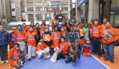 #LosKnicks Fan Fest au MSG: Les freebies, Fun, de l'Alimentation, de la NBA Legends et Interview exclusive avec la Grande Felipe Lopez de St. John
