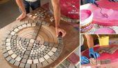 Tableau extérieure bricolage Avec Tile Haut et de l'acier de base