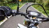 Freinage dans les courbes avec moto - si vous conduisez en toute sécurité