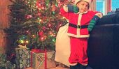 Un cadeau de Noël pour les parents qui divorcent, de la plus petite de Santa of All