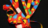 Kinderturnen à Carnival: Gymnastique avec banderoles et de la musique - brillance pure