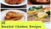 18 Recettes de poulet panés Chacun aimera!