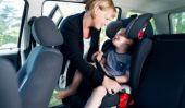Laissant les enfants dans les voitures: OK ou pas totalement?