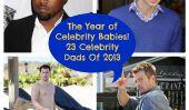 Kanye West, Josh Duhamel, le prince William - 23 Celebrity papas 2013!  (Photos)