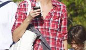 Christy Turlington Prend Plaid de Grunge Gorgeous - Celeb mamans Update The Classic Plaid Shirt!