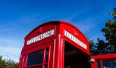 Drapeau anglais - à travers des images de créer un beau style de Londres
