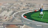 La plus haute Cour de tennis de worldâ € ™ s au Burj Al Arab