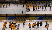 Entraîneur de hockey qui Tripped jeune joueur est dirigé à la prison