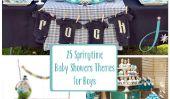 25 douche Springtime bébé Thèmes pour les garçons