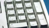 Assurez caractères alphabétiques sur le clavier