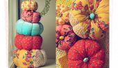 10 Fabulous Fabric citrouille Tutoriels!