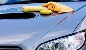 Les retouches de peinture sur la voiture - comment cela fonctionne: