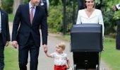 Princesse Charlotte est baptisé dans le style royal