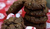 Cookies au chocolat à la menthe
