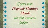 Il est le Mois du patrimoine hispanique!  Enfants Dites-nous ce Etre Hispanique signifie pour eux