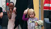 Angelina Jolie répond seulement à ses enfants, à moins qu'ils parlent français