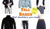 22 Notions de base de garde-robe automne Vous devez posséder: Moins de 100 $