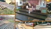 Pont de bois de palettes de bricolage pour moins de 300 $