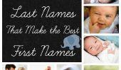 25 Noms de famille commun qui font également la grande prénoms