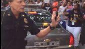 Cleveland Transit Cop Utilise Pepper Spray sur activistes 'Black Lives Matter'