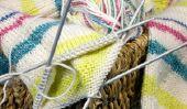Strickanleitung pour les chaussettes en spirale - ils sont colorés