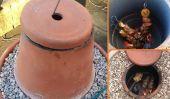 Comment faire un four Tandoor bricolage avec des pots de fleurs