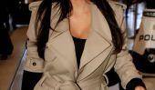 Kim Kardashian enceinte est fatigué ... et rien d'étonnant!  (Photos)