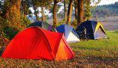 Que dois-je faire du camping?