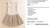 Quel est le plus vous passiez sur un article unique de Vêtements de bébé?  Comment propos de $ 1200?