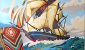 Fresque plus étonnant Peinture par numéros dans une pépinière!