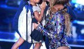 Bleu Ivy Carter Photos 2014: Baby Blue, Beyonce et Jay-Z Spotted au restaurant à Paris