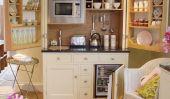 Économisant de l'espace avec une cuisine dans un placard