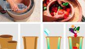 Bricolage Pot-Au-Pot Réfrigérateur
