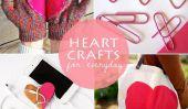 Gardez le reste de votre Colorful février - 10 Artisanat Coeur qui correspondent à la Everyday