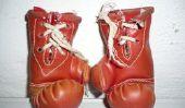 Sacs de sable et des gants de boxe - un conseil professionnel d'achat