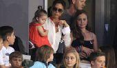 Victoria Beckham prend les enfants à regarder David Play!  (Photos)