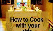 Tailler un Bond Thanksgiving: 9 conseils sur la façon de cuisiner avec vos enfants