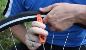 Montage de pneus sur le vélo - comment cela fonctionne: