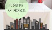 15 Art Projects facile de bricolage!