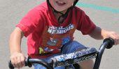 Enseignez à votre enfant à faire du vélo!