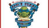 2014 Movie 'Teenage Mutant Ninja Turtles: Soundtrack Comprend Wiz Khalifa chanson;  Comic Con aux longs Pizza Thrower