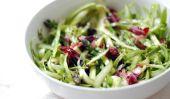 Une recette facile Asperges: Salade d'asperges Ruban